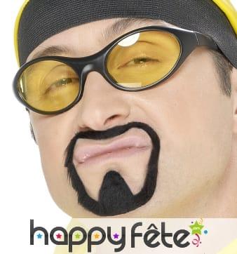 Fausses moustaches/bouc de rapper