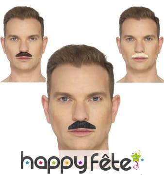 Fausse moustache chevron