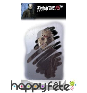 Faux miroir embué reflet de Jason vendredi 13