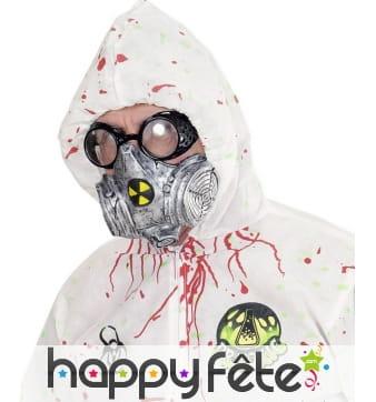 Faux masque irradié