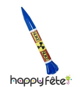 Faux missile nucléaire gonflable