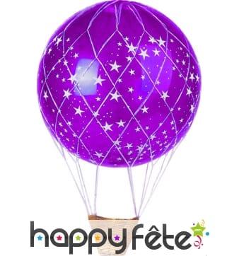 Filet montgolfière pour ballon