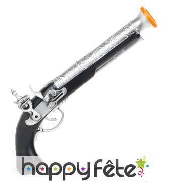 Faux pistolet de pirate pour enfant