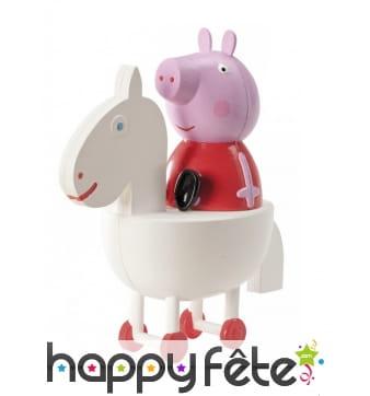 Figurine Peppa Pig de 11 cm en plastique