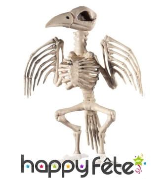 Faux squelette de corbeau