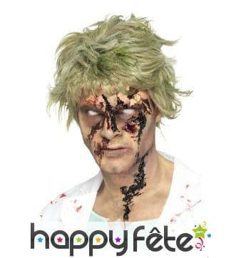 Faux sang noir de zombie à l'effet réaliste