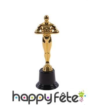 Fausse Statuette récompense des Oscars