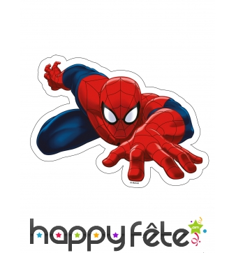 Feuille Ultimate Spiderman azyme, 23,2 x 17,3cm