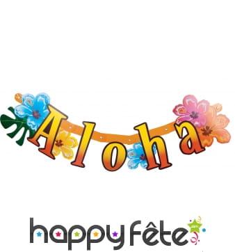 Guirlande Aloha articulée, 86cm