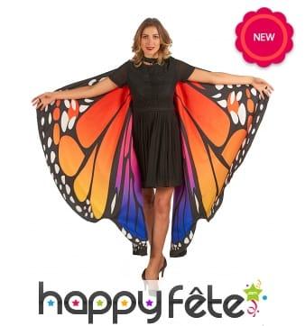 Grandes ailes de papillon pour adulte