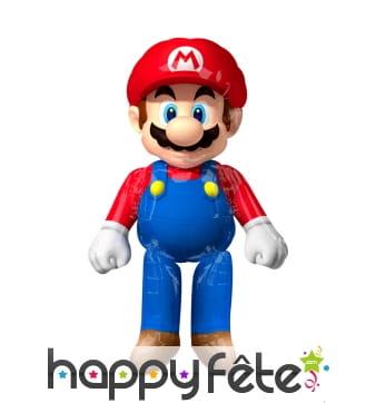 Grand ballon en forme de Mario Bross
