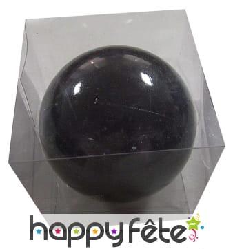 grosse boule noire de noel brillante de 20cm. Black Bedroom Furniture Sets. Home Design Ideas