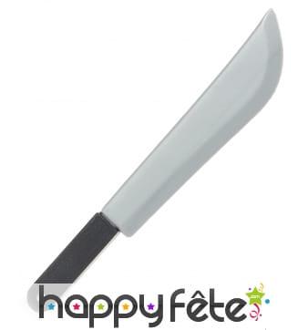 Grand couteau en plastique de 31 cm