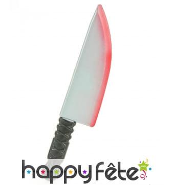 Grand Couteau ensanglanté de 38cm