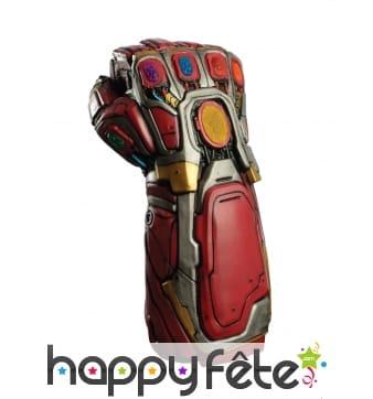 Gant de Iron man pour adulte, Avengers Endgame