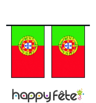 "Guirlande de pavillons ""Portugal"""