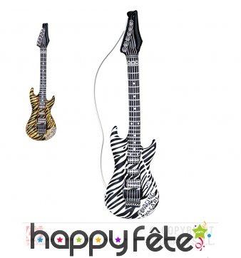 Guitare de rock gonflable