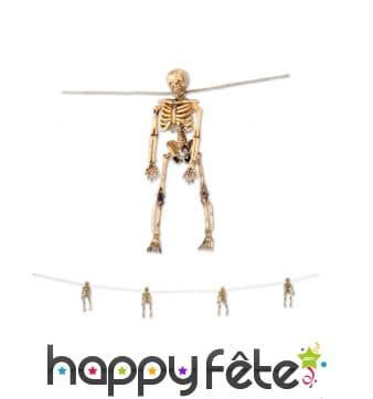 Guirlande de squelettes, 156cm