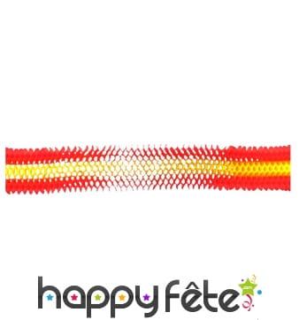 Guirlande Espagne iris en papier de 3m