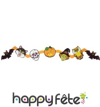 Guirlande halloween de personnages
