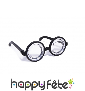 Grosses lunettes d'intello