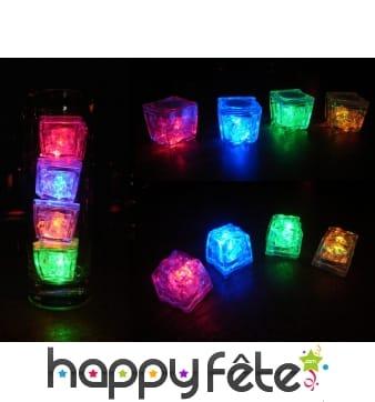 Glaçons LED lumineux