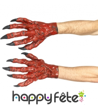 Gants mains de diable en latex