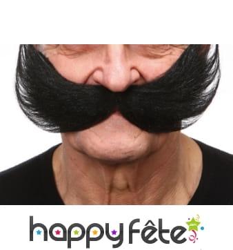 Grosses moustaches de bicker américain