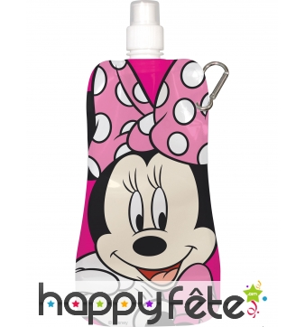 Gourde Minnie Mouse souple