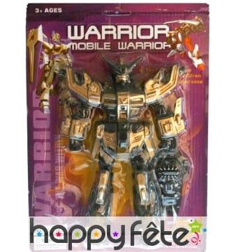 Grand robot articulé, jouet de 29 cm