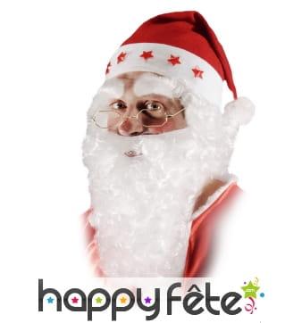 Gros Sourcils blancs de père Noël
