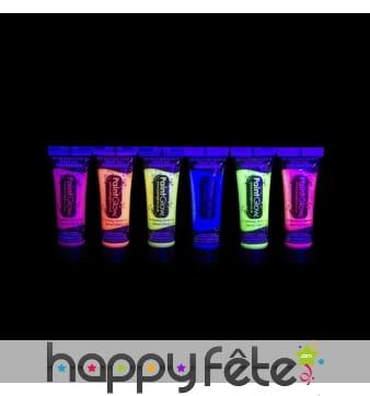 Gel UV fluo à paillettes, 10ml