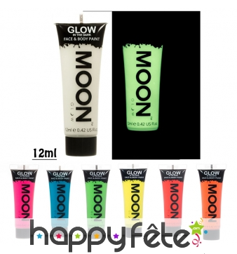 Gel visage et corps phosphorescent, Moonglow