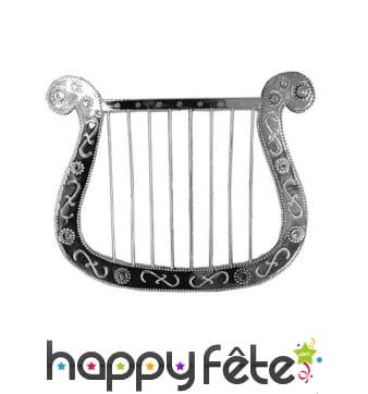 Harpe argentée de 28cm