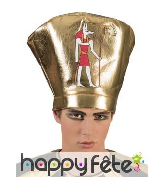 Haute coiffe égyptienne de roi
