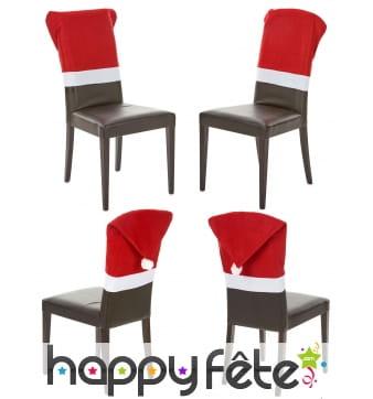 Housses de chaise bonnet de Noël, par 4
