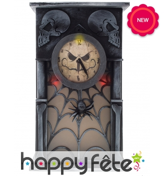 Horloge de Halloween, 34cm
