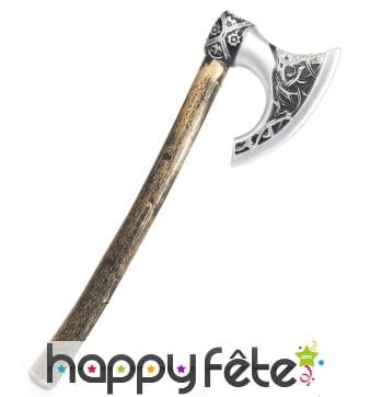 Hache de viking imitation bois pour enfant