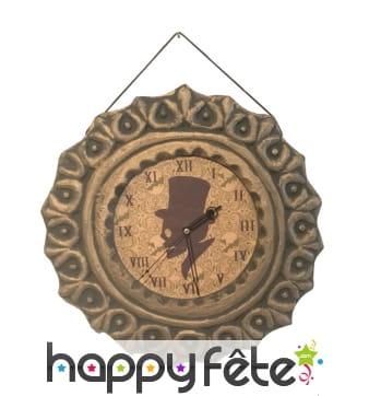 Horloge Halloween à chiffres romain