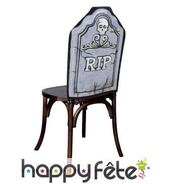 Housse R.I.P de chaise