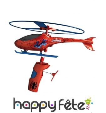 Hélicoptère Spiderman à hélice