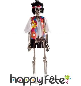 Hippie squelette à suspendre, 40cm
