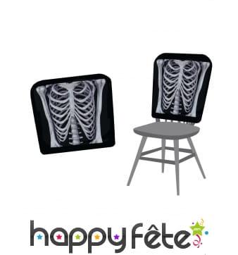 Housses squelette de chaise