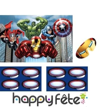 Jeu Avengers d'animation