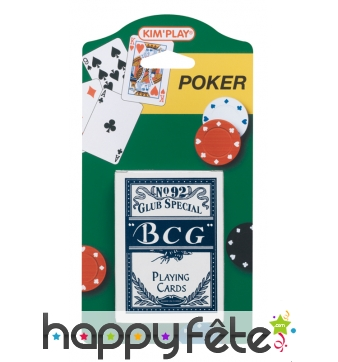 Jeu de carte de poker