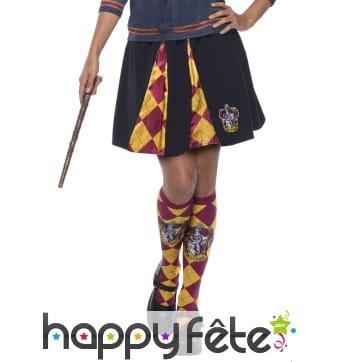 Jupe d'écolière Gryffondor Harry Potter, femme
