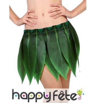 Jupe de feuilles de bananier vertes