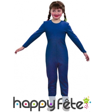 Justaucorps enfant bleu