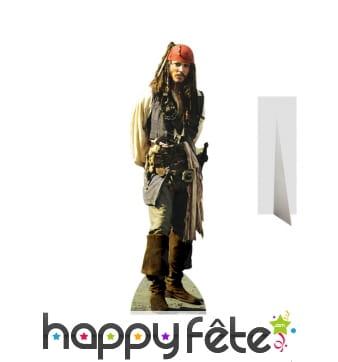 Jack Sparrow taille réelle en carton