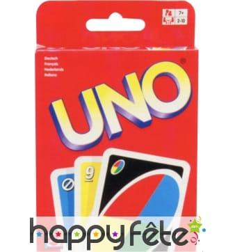 Jeux uno en carton